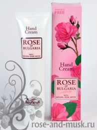 ROSE OF BULGARIA Крем для рук