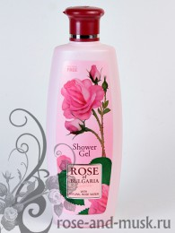 ROSE OF BULGARIA Гель для душа