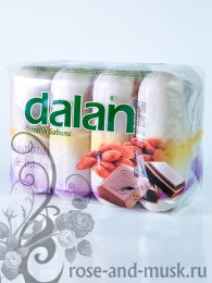 DALAN BEAUTY мыло ШОКОЛАД И МИНДАЛЬ (4 шт.)